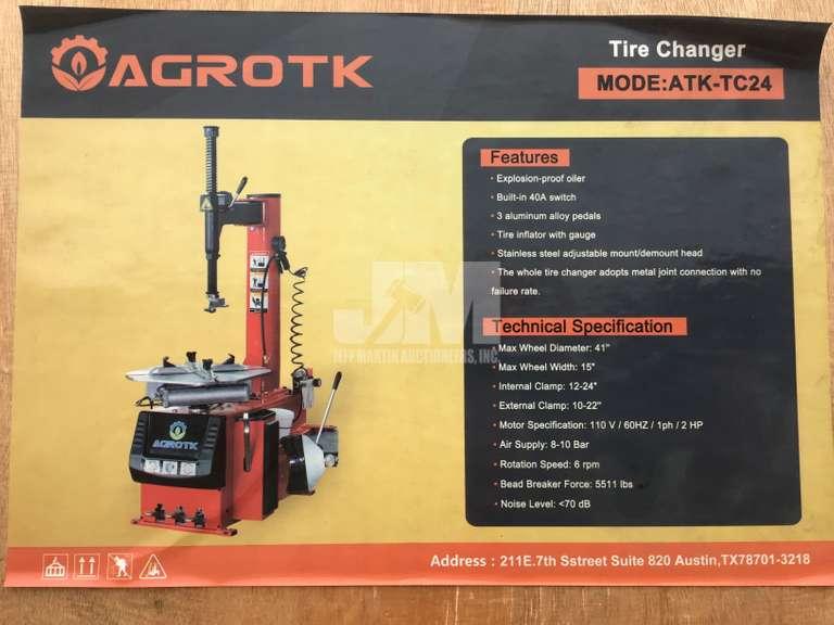 (UNUSED) AGROTK ATK-TC24 TIRE CHANGER