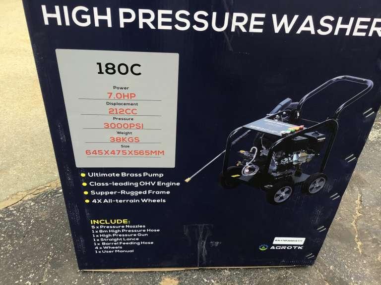 (UNUSED) AGROTK 180C HIGH PRESSURE WASHER