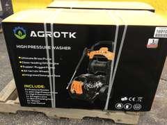 (UNUSED) AGROTK 180NB HIGH PRESSURE WASHER