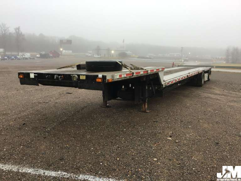 "2000 TRANSCRAFT DTL-2000 SUPER-BEAM 48'X102"" ALUMINUM STEPDECK TRAILER VIN: CNV"