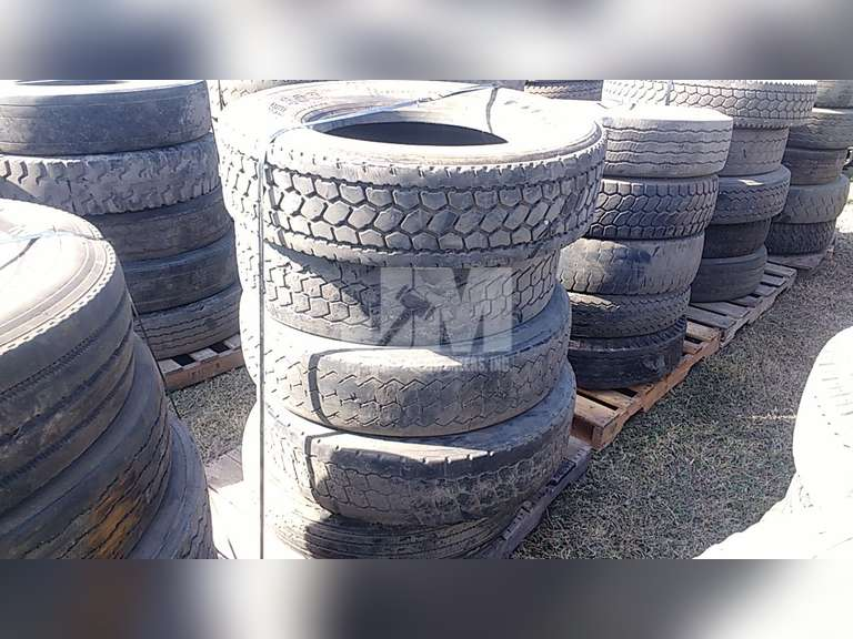 QTY OF (5) MISC 315/80R22.5 TIRES