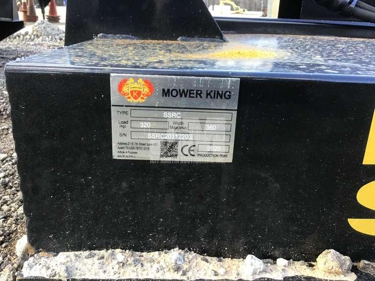 """2020 MOWER KING SSRC SN: SSRC20112203 72"""" BRUSH CUTTER"""