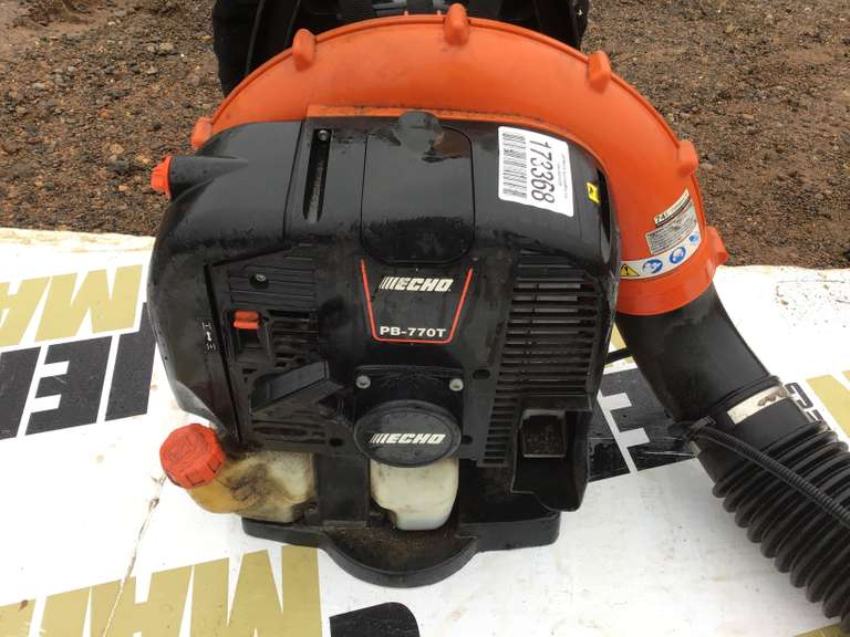 BACK PACK ECHO PH-770T BLOWER, GAS ENGINE,