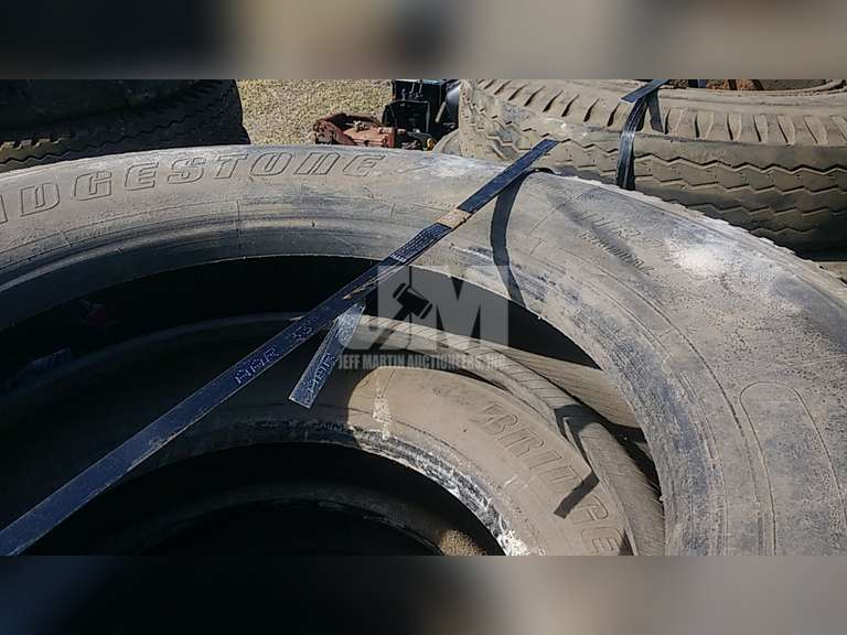 QTY OF (5) MISC 11R24.5 TIRES W/ WHEELS