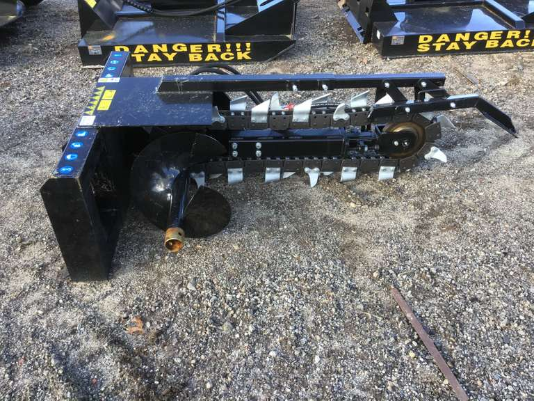 2020 MOWER KING ECSSCT SN: ESCSSCT20112201 6' HYDRAULIC TRENCHER