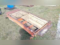 """QTY OF (2) DOVETAIL TRAILER RAMPS, 100"""" X 41"""""""