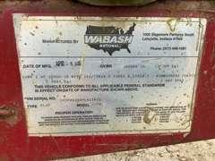 """1997 WABASH NATIONAL CORPORATION 96"""" WIDE 48'X102"""" STEEL FLATBED VIN: 1JJF48264VL415432"""