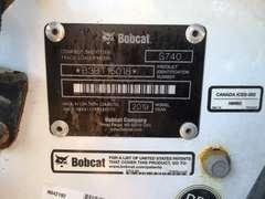2019 BOBCAT S740 SKID STEER SN: B3BT15018