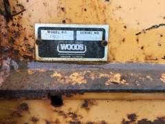 WOODS T60-1 ROTO TILLER SN: 001218