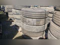 QTY OF (5) MISC 295/75R22.5 TIRES