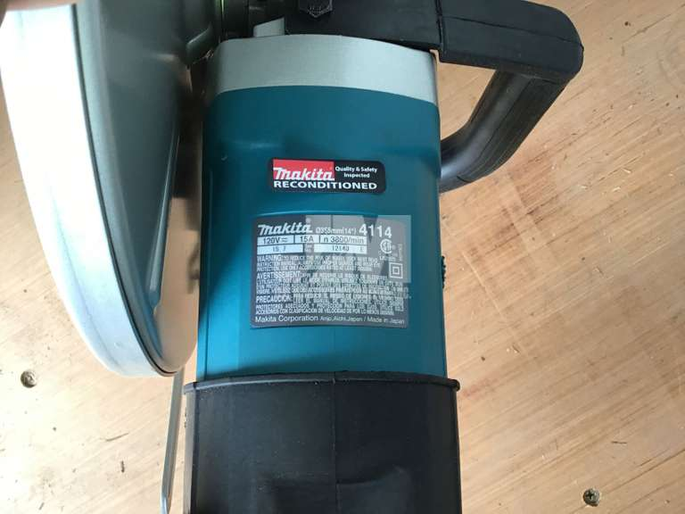 (RECONDITIONED) MAKITA 4114-B ANGLE CUTTER