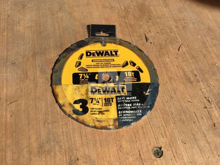 "DEWALT 7 1/4"" FRAMING SAW BLADE (3 PK)"