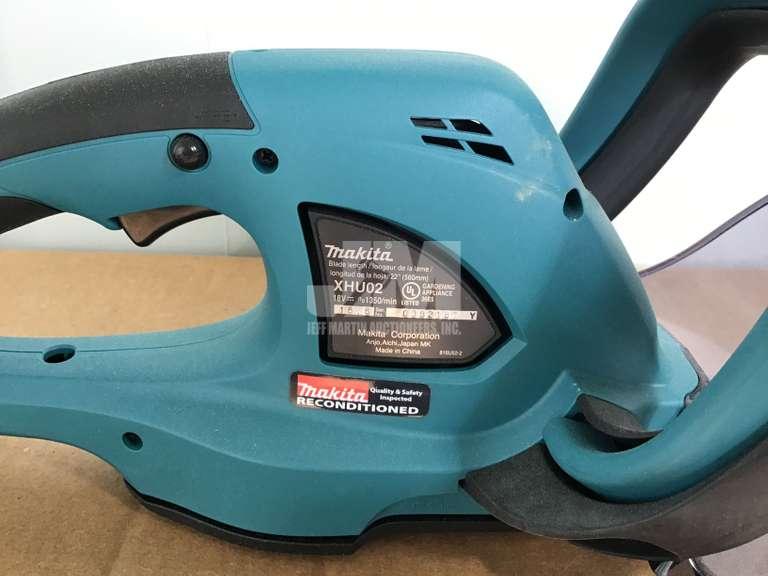 (RECONDITIONED) MAKITA XHU02Z-B CORDLESS HEDGE TRIMMERS