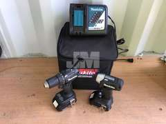(RECONDITIONED) MAKITA CX200RB CORDLESS DRILL COMBO SET