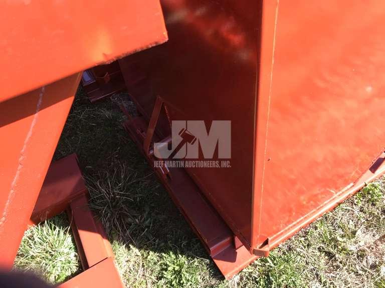 UNUSED STANDARD DUTY 2 CY CAPACITY DUMPING HOPPER KC81625