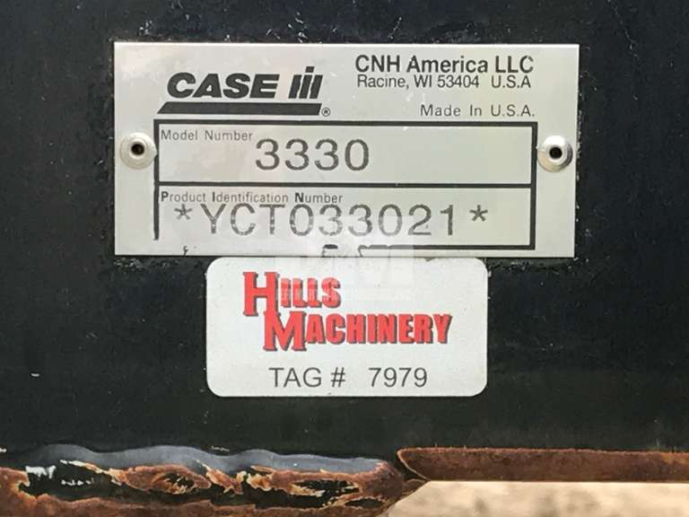 2013 CASE IH PATRIOT 3330 SN: YCT033021 SPRAYER