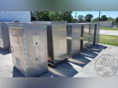 QTY OF (6) ALUMINUM TRAFFIC SIGNAL ELECTRICAL BOXES