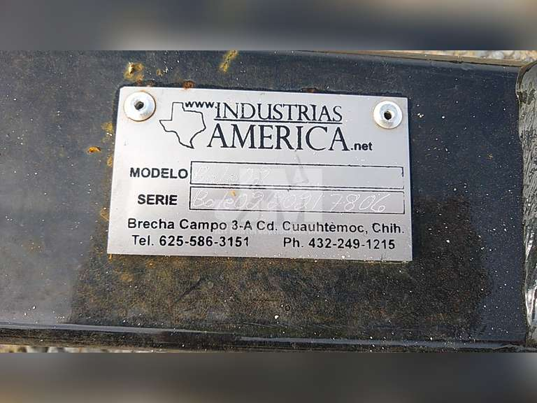 (UNUSED) INDUSTRIAS AMERICA SN: BALE0220217806 HYDRAULIC BALE UNROLLER