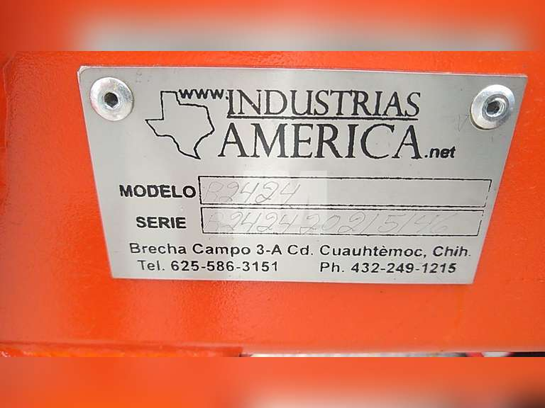 (UNUSED) INDUSTRIAS AMERICA R2424 OFFSET DISC HARROW SN: R242420215146