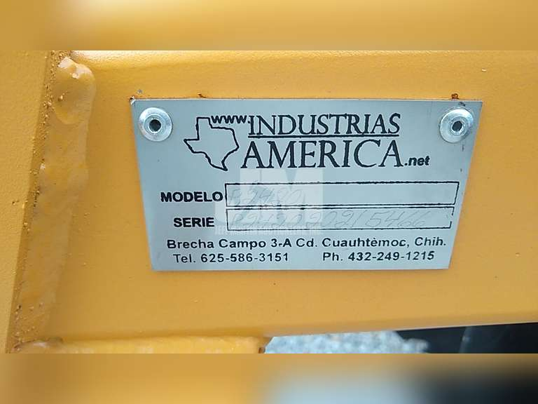 (UNUSED) INDUSTRIAS AMERICA R2420 OFFSET DISC HARROW SN: R242020215466