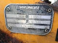 2003 HYUNDAI HL740-3 WHEEL LOADER SN: H70310856