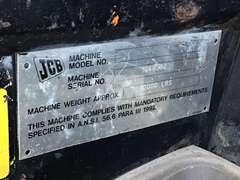 2004 JCB 520 TELESCOPIC FORKLIFT SN: 1048362