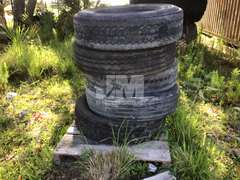 QTY OF (5) 295/75R22.5 TIRES