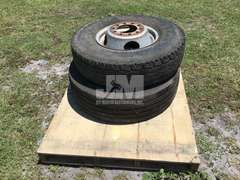QTY OF (2) MISC R16 TIRES