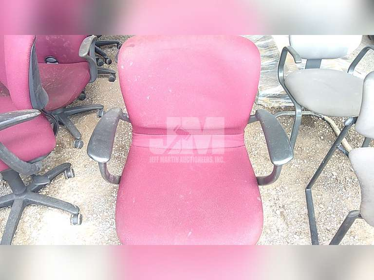 (5) ROLLING DESK CHAIRS