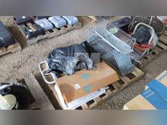 PALLET OF MISC. WALKERS & TRAPS