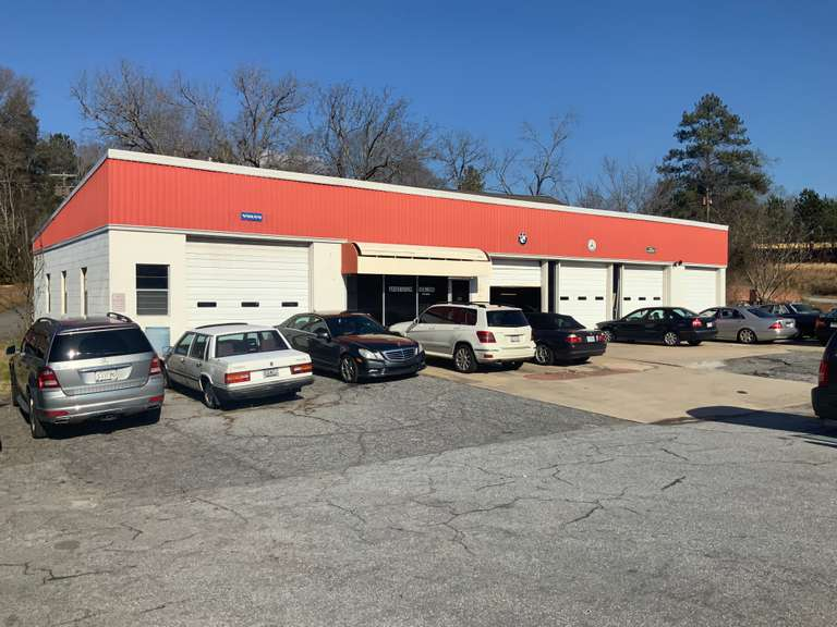 ONLINE REAL ESTATE AUCTION - FEATURING 3420 SF AUTO REPAIR SHOP IN ABBEVILLE, SOUTH CAROLINA
