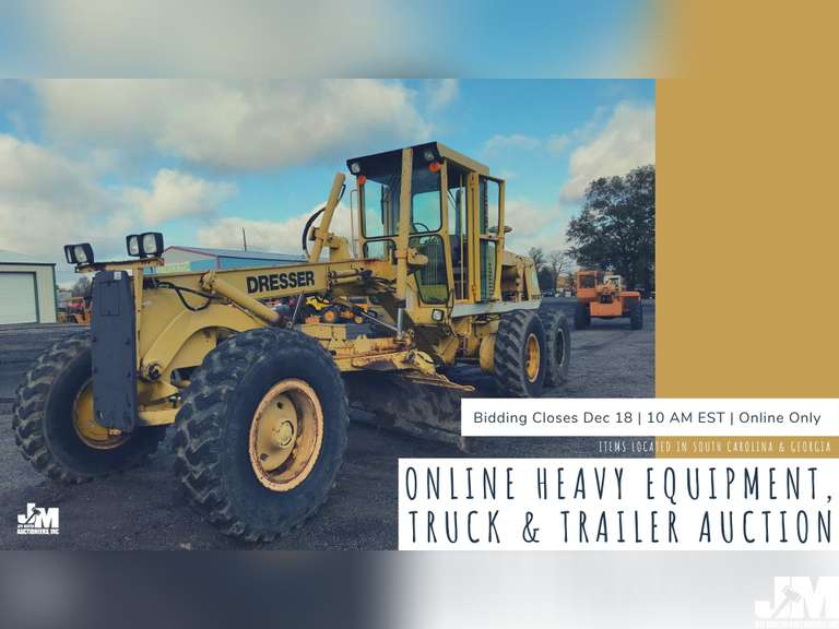 ONLINE AUCTION FEATURING HEAVY EQUIPMENT, TRUCKS & TRAILERS