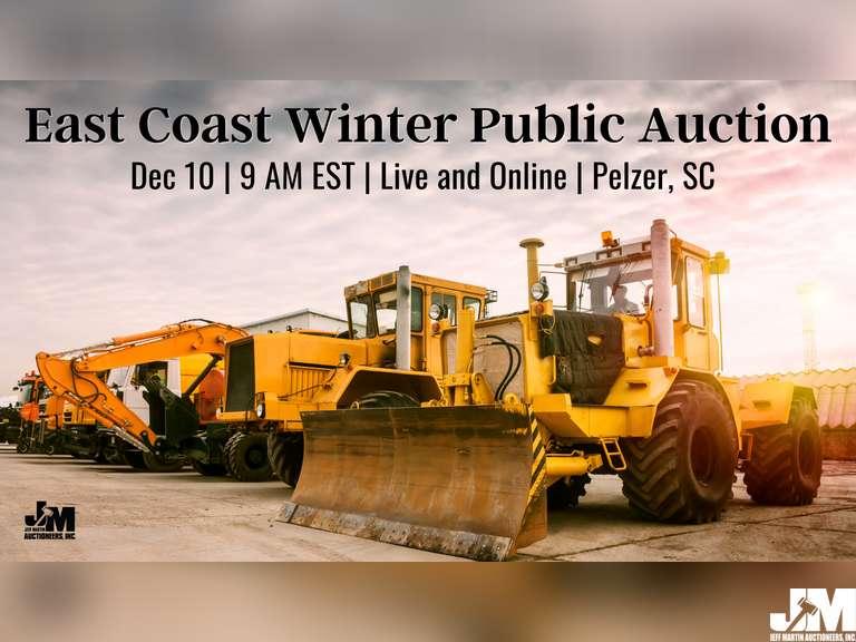 EAST COAST CONSTRUCTION & TRANSPORTATION PUBLIC AUCTION