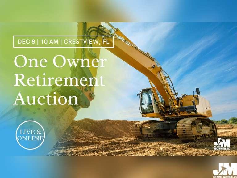 ONE OWNER RETIREMENT AUCTION - JERRY'S CONCRETE & SITE CONTRACTORS, LLC