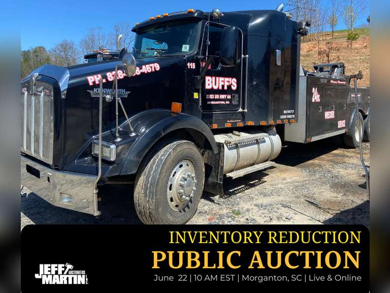 PUBLIC INVENTORY REDUCTION AUCTION - BUFF'S AUTO SALES & OTHERS- JUNE 22ND @ 10 AM EST