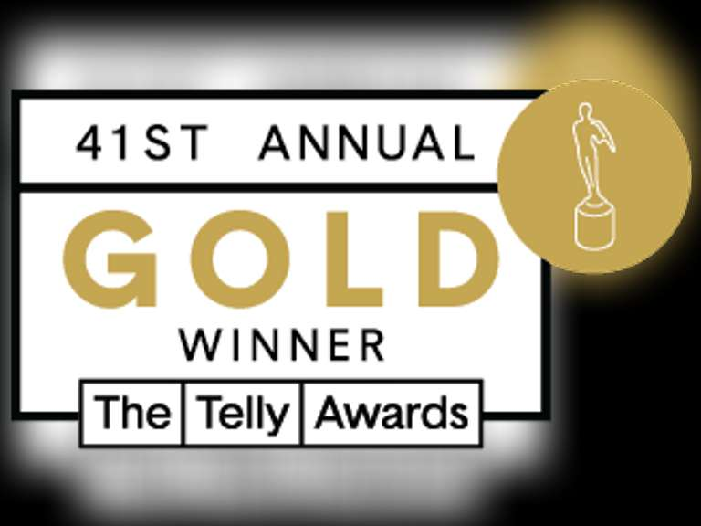 Jeff Martin Wins Gold Telly Award
