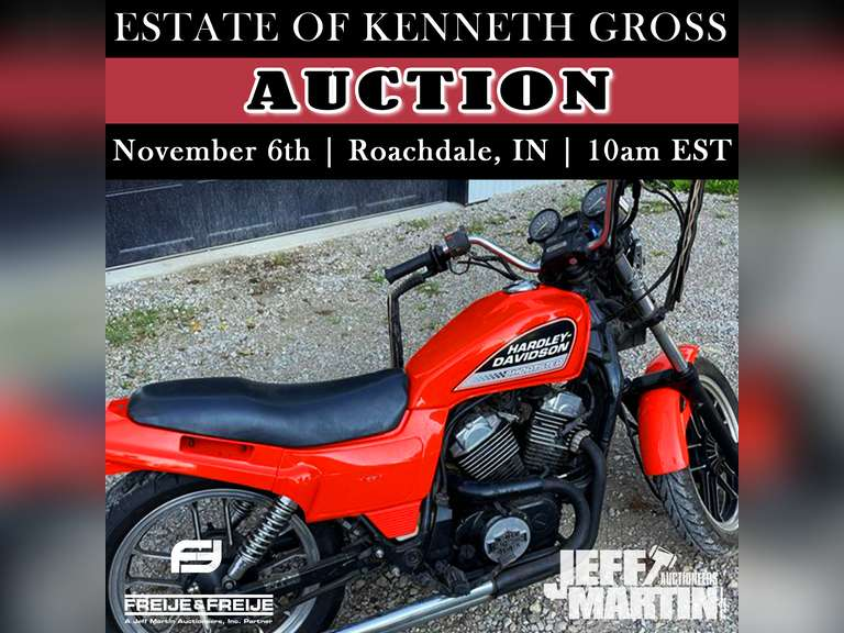 THE ESTATE OF KENNETH GROSS AUCTION- NOVEMBER 6TH @ 10 AM EST