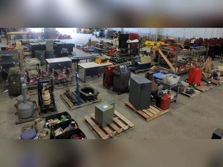 ONLINE ONLY OCTOBER 2021 TOOLS & BUSINESS EQUIPMENT - BIDDING CLOSES OCTOBER 13TH @ 6 PM CST