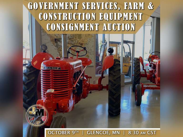 OCTOBER 9TH, 2021 FLEET & GOVERNMENT SERV. FARM & CONSTRUCTION EQUIP AUCTION