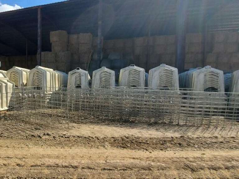 Calf-Tel Hutches- (Package contains 10 Hutches and priced at $1250 ($125 per Hutch)