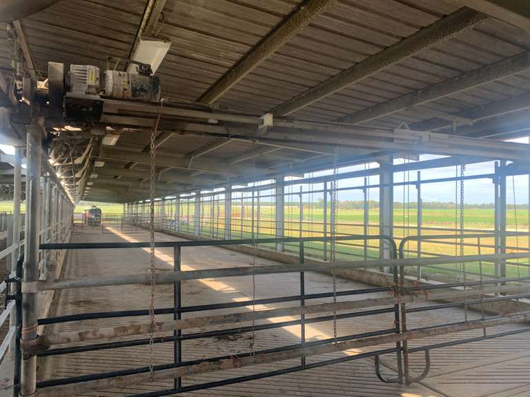 Delaval Herdsman HRS Cow Mover (Crowd Gate)   4' X 24'  Located in Cordele, GA  Priced at $16000 at the dairy  For more information contact: Clay Papoi 517-526-1917