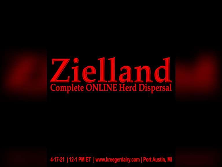 Zielland Farms Complete Herd Dispersal
