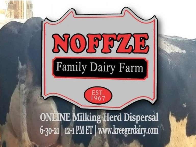 Noffze Family Dairy Milking Herd Dispersal