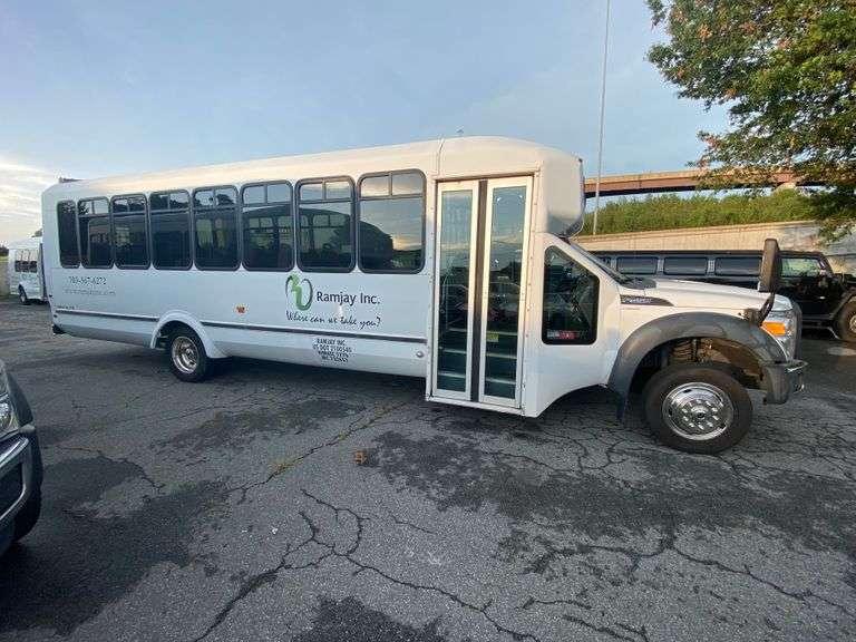 Springfield, VA. Shuttle & Van Auction 8-2-2021