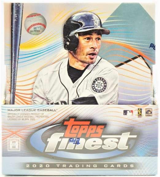 2020 Topps Finest Baseball Box Break #2 ($320 reserve)
