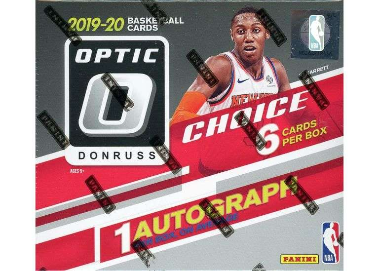2019-20 Optic Choice Basketball Box Break #1