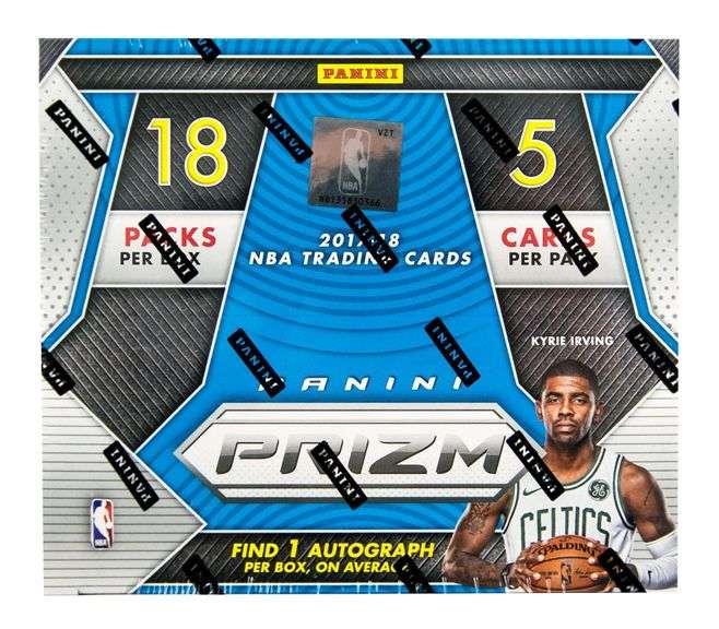 2017-18 Prizm Fast Break Basketball  Box Break #1 (Box Reserve)