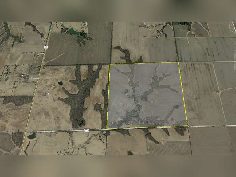 Monroe County 163 acres- Great Tillable and Hunting Tract