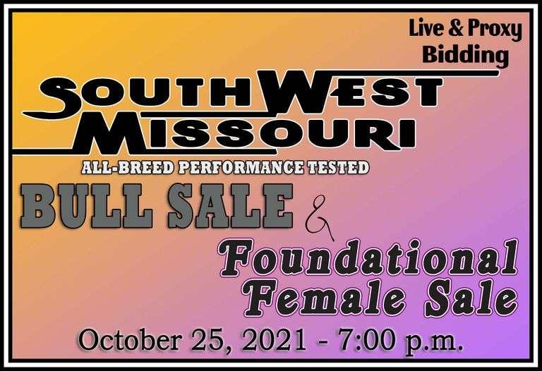 SWMOBCIA Performance Tested Bull & Foundational Female Sale