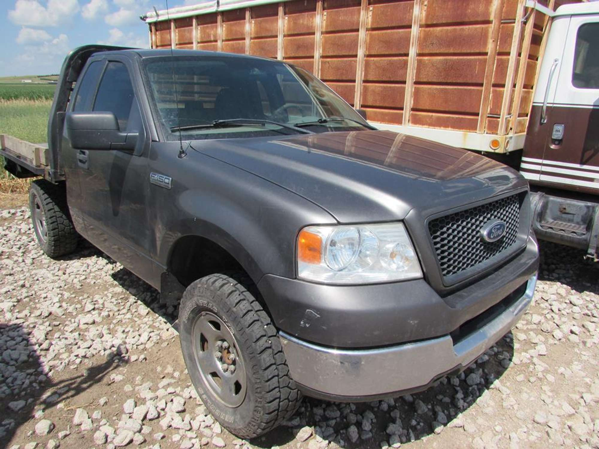 2005 Ford F 150 Pickup With Flatbed Adam Marshall Land Auction Llc